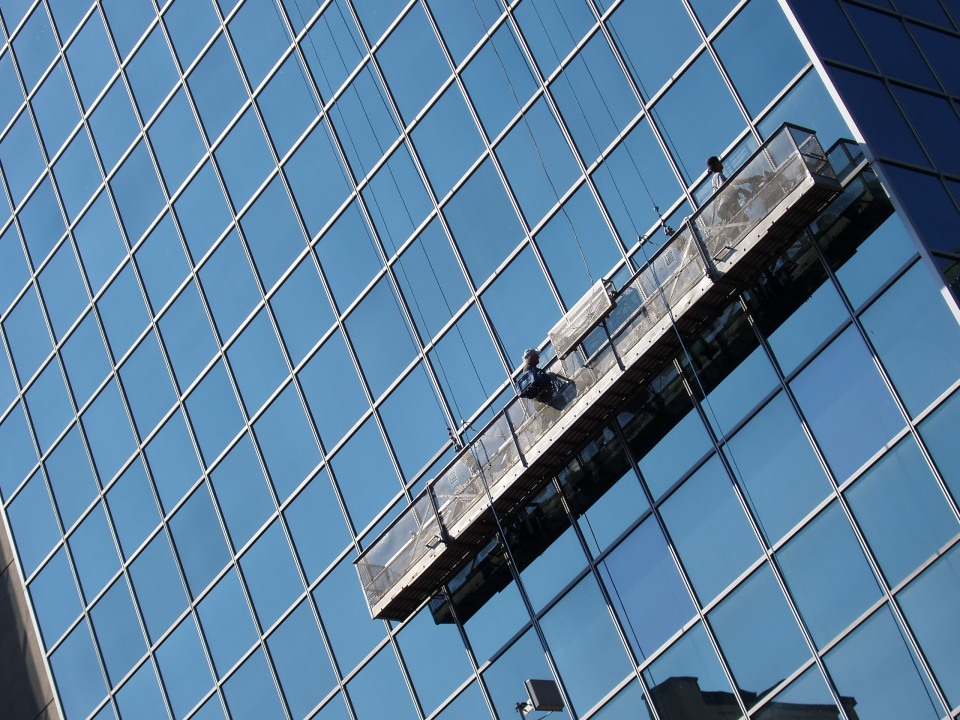 Inspiration can even come from window washers.