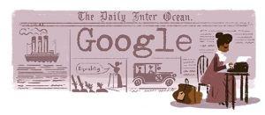 Google Doodle Ida B Wells