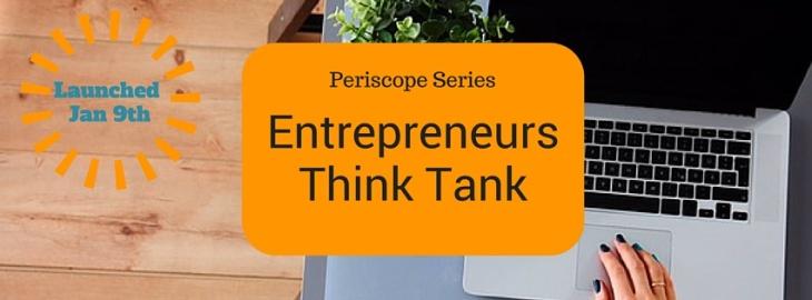 Entrepreneurs Think Tank Banner
